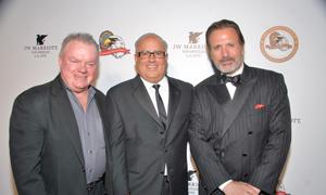 Jack McGee, Peter Repovich, and Frank Stallone