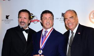 Frank Stallone, Sylvester Stallone and Arthur Kassel