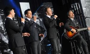 The Tenors received standing ovations during their performance on stage.