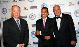 AG Jerry Brown, Mayor Villaraigosa, & Arthur Kassel