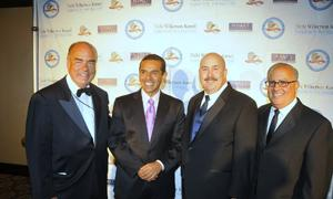Arthur Kassel, Mayor Villaraigosa, Paul Weber and Peter Repovich