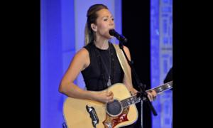 Two-time Grammy winner Colbie Caillat performs several of her biggest hits for event guests.