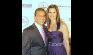 Mayor Antonio Villaraigosa and Lu Parker